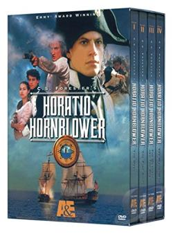 Horatio Hornblower - Vols. 1-4 DVD Cover Art
