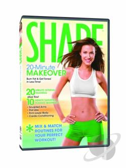 Shape - 20 Minute Makeover DVD Cover Art