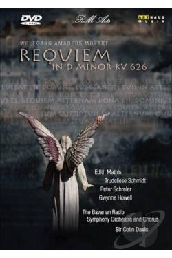 Mozart - Requiem in D Minor KV 626 DVD Cover Art