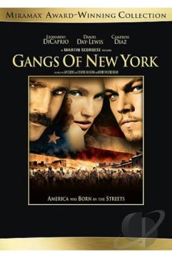 Gangs of New York DVD Cover Art