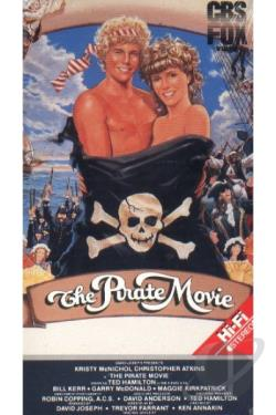 Pirate Movie VHS Cover Art