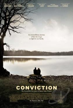 Conviction DVD Cover Art