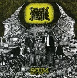 Napalm Death - Scum: 20th Anniversary Edition Jewel Case DVD Cover Art