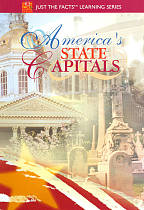Just the Facts - America's State Capitals DVD Cover Art