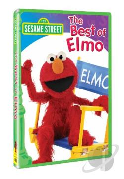 Sesame Street - The Best of Elmo DVD Cover Art