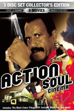 Action Soul Cinema DVD Cover Art