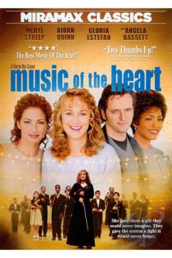 Music of the Heart DVD Cover Art