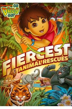 go diego go fiercest animal rescues dvd movie