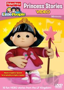 fisherprice little people princess stories dvd movie