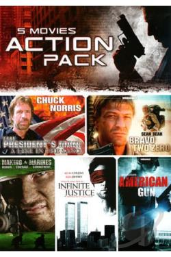 5 Movie Action Pack, Vol. 7 DVD Cover Art