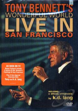 Tony Bennett - Wonderful World: Live in San Francisco DVD Cover Art
