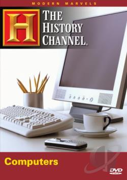 Modern Marvels - Computers DVD Cover Art