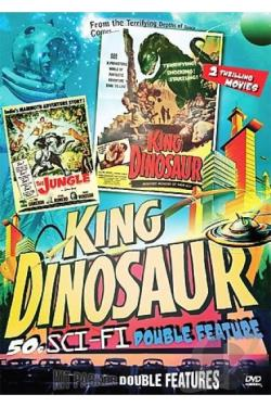 King Dinosaur/The Jungle DVD Cover Art