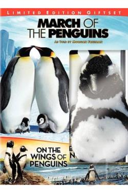 March of the Penguins/On the Wings of Penguins DVD Cover Art