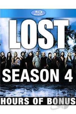 Lost - The Complete Fourth Season BRAY Cover Art