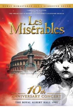 Miserables - In Concert DVD Cover Art