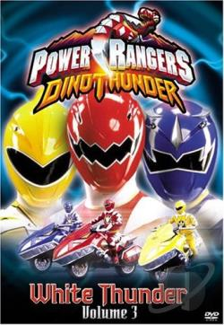 Power Rangers - Dino Thunder Vol. 3: White Thunder DVD Cover Art