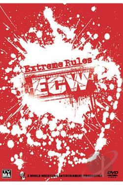 ECW - Extreme Rules DVD Cover Art