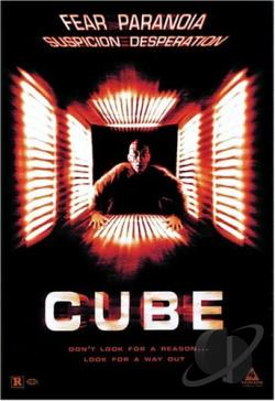 Cube DVD Cover Art