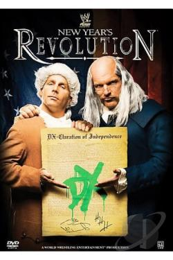 WWE - New Year's Revolution 2007 DVD Cover Art