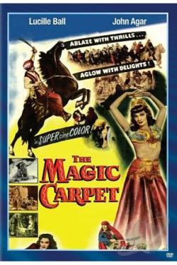 Magic Carpet DVD Cover Art