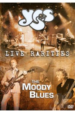 Yes/The Moody Blues: Live Rarities DVD Cover Art