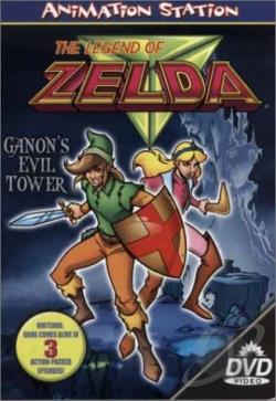 Legend of Zelda - Ganon's Evil Tower DVD Cover Art