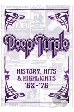 Deep Purple - History, Hits & Highlights 1968-1976 DVD Cover Art