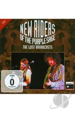 New Riders of the Purple Sage: The Lost Broadcasts DVD Cover Art