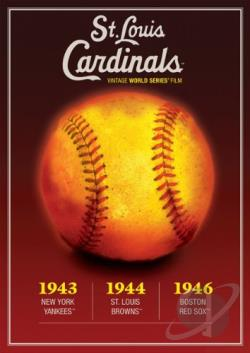 St. Louis Cardinals Vintage World Series Films 1940's DVD Cover Art