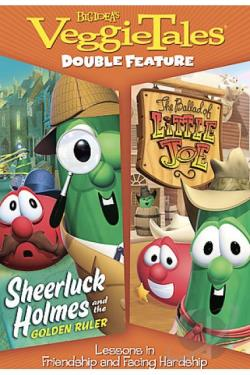 VeggieTales - Sheerluck Holmes and the Golden Ruler/The Ballad of Little Joe DVD Cover Art