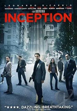 Inception DVD Cover Art