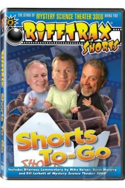 RiffTrax: Shorts to-Go DVD Cover Art