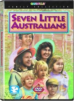 Seven Little Australians DVD Cover Art