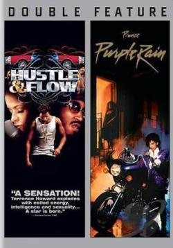 Hustle and Flow/Purple Rain DVD Cover Art