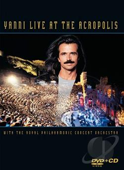 Yanni - Live at the Acropolis DVD Cover Art
