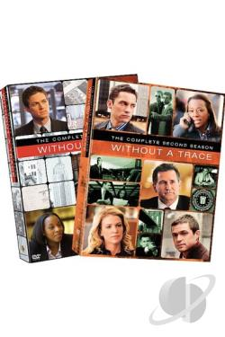 Without A Trace - The Complete Season 1 & 2 DVD Cover Art