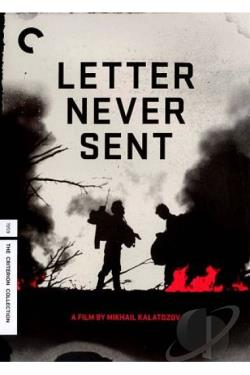 Letter Never Sent DVD Cover Art