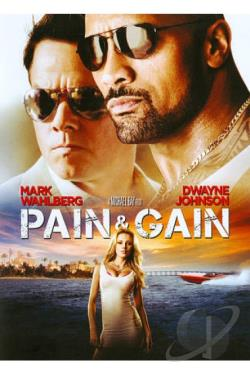 Pain & Gain DVD Cover Art