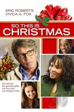 So This Is Christmas DVD Cover Art