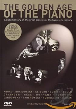 Golden Age of the Piano DVD Cover Art