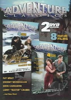 Hollywood Adventure Film Series, Vol. 2 DVD Cover Art