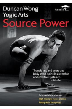 Duncan Wong's Yogic Arts: Source Power DVD Cover Art