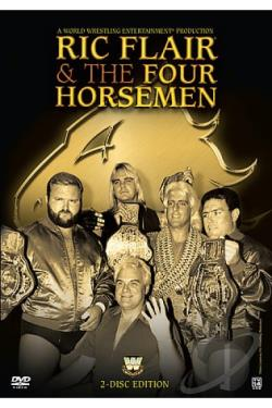 WWE - Ric Flair and the Four Horsemen DVD Cover Art