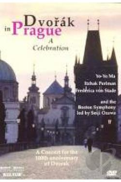 Dvorak in Prague: A Celebration DVD Cover Art