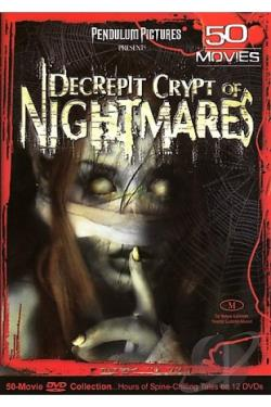 Decrepit Crypt Of Nightmares 50 Movie Pack DVD Cover Art