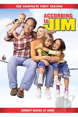 According to Jim - The Complete First Season DVD Cover Art