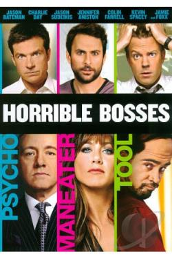 Horrible Bosses DVD Cover Art