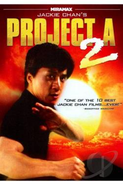 Jackie Chan's Project A2 DVD Cover Art