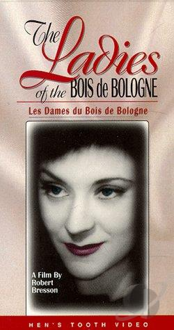 Ladies of the Bois de Bologne VHS Cover Art
